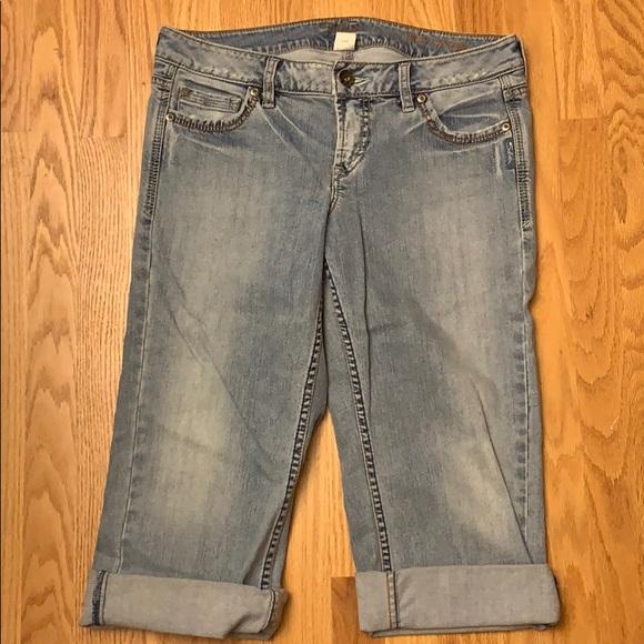 Silver Jeans Denim - NWOT Silver Jeans capris
